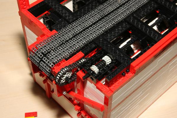 lego stoommachine op schaal afbeeldingen